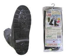 雨鞋套 男士美挺防雨鞋套L005型 惠爾挺 賓士級的鞋套 橡膠鞋底-止滑效果第一【同同大賣場】