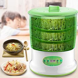 豆芽機 家用生豆芽機器全自動特價大容量發四季豆芽菜罐桶盆 種豆芽