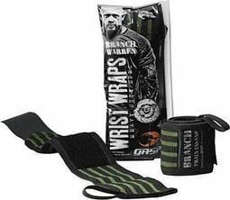 【健康日誌】現貨 GASP Branch Warren Wrist Wraps 護腕 重訓運動使用 2入 黑綠色