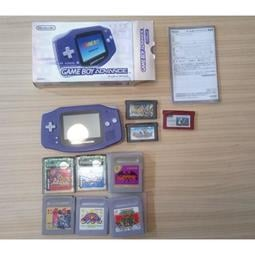 Gba gameboy advance 套組