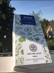 德國 杜賽大廠 Nature Love 軟骨素MSM 純素膠囊 365入