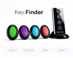 電子搜尋器key finder1托4 防丟報警一拖四鑰匙尋找器送老人禮物
