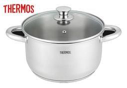 【大邁家電】膳魔師 THERMOS CW-SP1803-A 5.0L不銹鋼雙耳湯鍋24CM