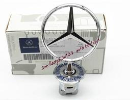 Benz賓士麥穗引擎蓋立標C級E級S級S300S320S350S400S500S600車頭標引擎蓋立標