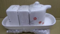 和風陶瓷調味罐 佐料盒 調味組