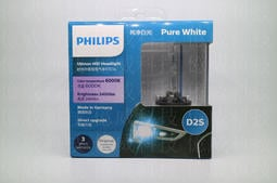 【億威】PHILIPS D2S 6000K HID (保固1年/85126WX)