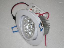 LED崁燈7W 7晶700流明 開孔:95mm 可調角度 白光/黃光/自然光 含變壓器-其
