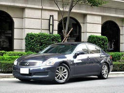 電動天窗 感應式HID 電折後視鏡 2007年INFINITI G35 一手車 原版件 ABS 訪機械式只針時間表