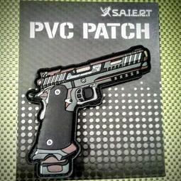 [Saert_PVC]John Wick 捍衛任務 臂章 槍 STI 2011 戰鬥大師 PVC PATCH