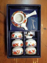 【叁壹玖老物坊】 全新 早期 法國製 P.Mauriat Paris 茶具組 茶壺組  T19001
