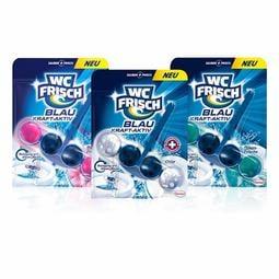 【德意D笑】德國 WC-Frisch藍精靈系列強效馬桶香氛清潔球 (3款)