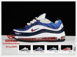 {闊陸者}耐吉 Nike Air Max 98高達氣墊跑步鞋 運動鞋 男鞋休閒鞋