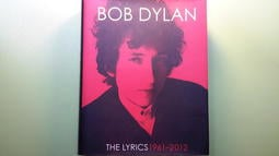 【世雄書屋】BOB DYLAN  THE LYRICS 1961-2012