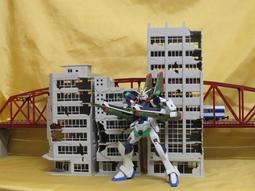 [熊貓] HG 1/144 戰損大樓 A B C款 三種款式 模型場景 N規 軍模 鋼彈 ROBOT魂 SHM 用