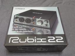 Roland rubix22 錄音介面 日本帶回 免運 全新 有rubix24 rubix44