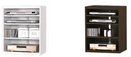 【南洋風休閒傢俱】時尚造型CD櫃系列-白色/胡桃4層CD櫃 JX204-4 -5