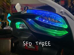 『小星精品』ST 免運 五代戰尾燈 KOSO 幻彩 遙控變色 七彩 跑馬 四代 小燈 變色 遙控 發光 跑馬 LED
