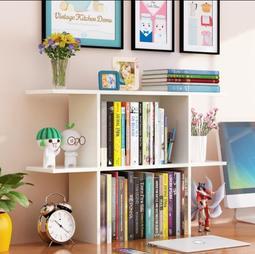 桌上書架 學生收納架辦公桌架 簡易置物架創意小書架寢室書架