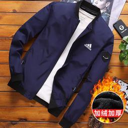 adidas 阿迪達夾克 韓版夾克加厚外套 潮流外套 更保暖 不悶熱 休閒夾克 舒適透氣 防寒外套 加厚外套 3399
