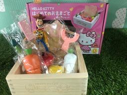 胡迪老爹直購網  Hello Kitty蔬果切切 木質玩具 磁鐵 磁性玩具