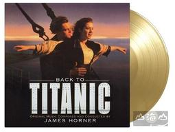 【彩膠唱片LP】重回鐵達尼號 BACK TO TITANIC (GOLD VINYL)(2LP)---MOVATM175