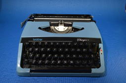 brother changer 11 舊式打字機 古董 功能正常