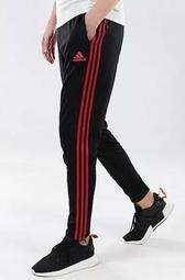 Adidas愛迪達長褲 三葉草三道槓長褲 休閒跑步運動束腳收口小腳運動褲學生褲