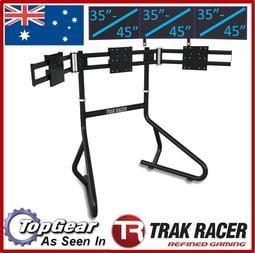 Trak Racer 模擬賽車遊戲 賽車架座椅  35~45吋 三屏落地支架組