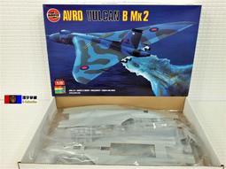 [環宇爭藏] Airfix 1/72 AVRO Vulcan B.2 英國火神式轟炸機 未組裝模型套件(超絕版) 現貨