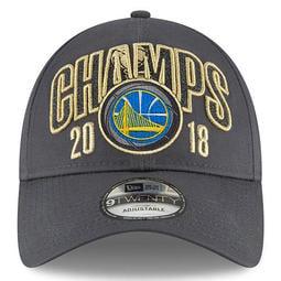 正品海外代購 NBA 2018賽季 勇士隊總決賽冠軍帽 鴨舌帽