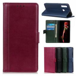 HTC Desire19+ U19e 手機皮套 皮套 基本款 商務款 象紋光面皮套