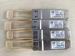 思科原装二手光模块CISCO QSFP-40G-SR4