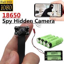 標準配備 18650 DIY 針孔攝影機 WIFI 手機遠端即時監控 1080P 錄影機 鋰電池 密錄器 循環錄影機