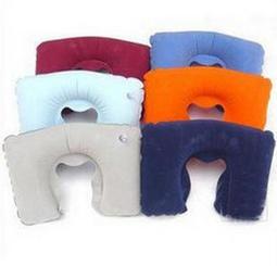 *$阿信姐居家網$* 充氣U型枕頭 護頸枕 頸椎保健枕 午休枕 U型枕 充氣枕 空氣枕 Q7050Q