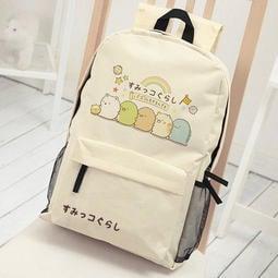 【現貨 贈角落生物造型筆】可愛角落生物雙肩包後背包學生書包