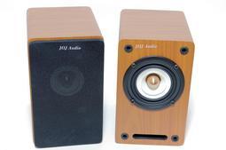 3 吋全音域喇叭音箱 白紙盆 相位椎 書架喇叭 低音迷宮式氣流設計 電腦音響喇叭 手機喇叭 /1對