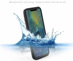 全新華為Mate20pro防水殼手機保護殼防水防摔防塵透明款全方位手機保護套遊泳拍照必備