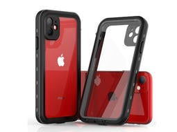 新款iPhone11手機防水殼可潛水防摔防塵全包邊透明款iPhone11手機防水保護殼遊泳拍照必備