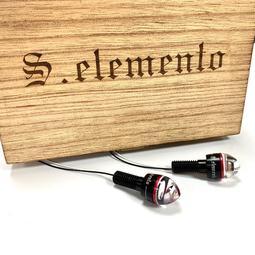 S.elemento Alpha LED 方向燈 高亮度 通用款 重機 擋車 E-mark 外銷品 Caferacer