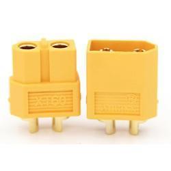 【佑齊企業 iCmore】AMASS艾邁斯 XT60 大電流阻燃香蕉插頭  ---公頭.母頭一對(含稅)