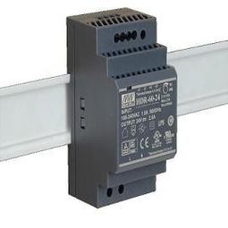 【佑齊企業 iCmore】HDR-60-24/ 60W  MEAN WELL階梯式DIN導軌型電源供應器(含稅)