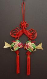 中國結雙竹魚吊飾 成品