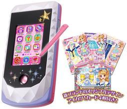 日本 偶像學園 第三代豪華組 智慧手機+手機殼+手機繩 萬代 【哈日酷】