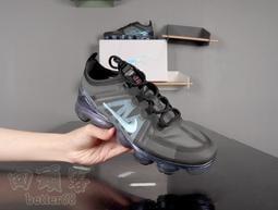 回頭客 Nike Air VaporMax 2019 黑藍 鐳射 蟬翼 半透明 氣墊 休閒 運動 AR6631-001