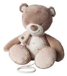 比利時Nattou 絨毛音樂拉鈴 Tom the bear 棕熊湯姆
