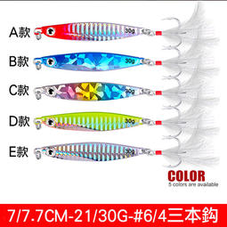 【路亞工坊】 岸拋鐵板 鐵板路亞 雷射鉛魚 21g