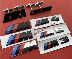 新款原廠BMW寶馬M中網標1系3系5系7系X1X3改裝M2M3M4M5M6前網裝飾標免拆中網車標