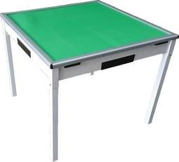 【風禾家具】HJS-770@折疊麻將桌-白色【台中4200送到家】低甲醛系統板傢俱 餐桌 休閒桌 摺疊桌 牌桌 多色可選