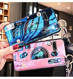 華碩 ROG遊戲手機2 手機殼 ZS660KL 藍光 相機殼 硅膠軟殼 敗家之眼驍龍 rog phoneII 保護套