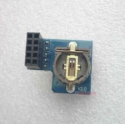 員外DIY衝評價~樹莓派時鐘模塊RTC DS1307 電池可拆卸更換支持Raspberry Pi